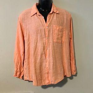Alan Flusser Linen Shirt